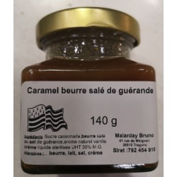 POT DE CARAMEL BEURRE SALE...